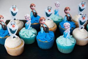cupcake marvel frozen cupcake