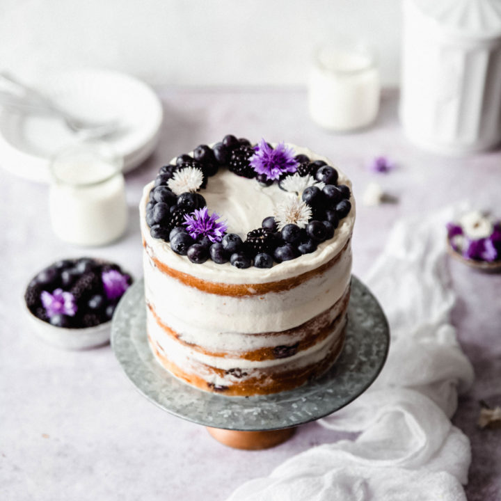 LAYER CAKE MYRTILLES (BLUEBERRY)