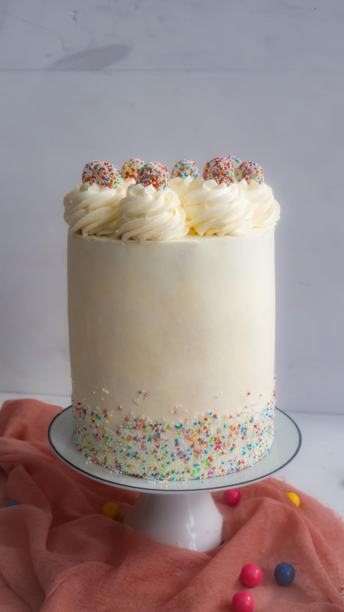 Gateau a la vanille pour 2 personnes