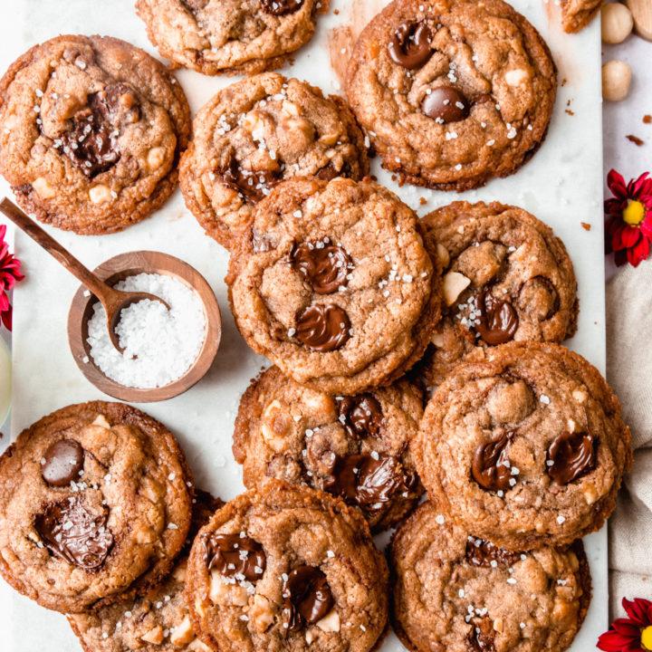 Cookies chocolats macadamia