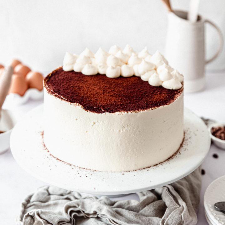 Layer cake au vrai tiramisu